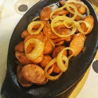 Sizzling Hungarian Sausage